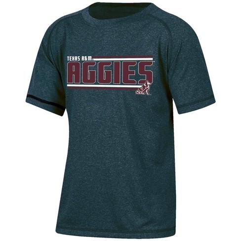 NCAA Texas A&M Aggies Boys' Short Sleeve Performance T-Shirt - image 1 of 2