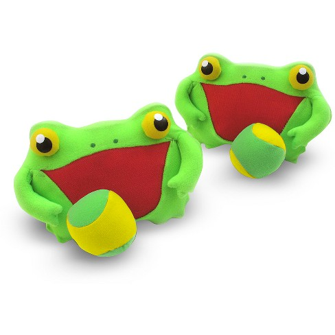 Melissa & Doug® Sunny Patch Froggy Toss and Grip Catching Game With 2 Balls - image 1 of 2