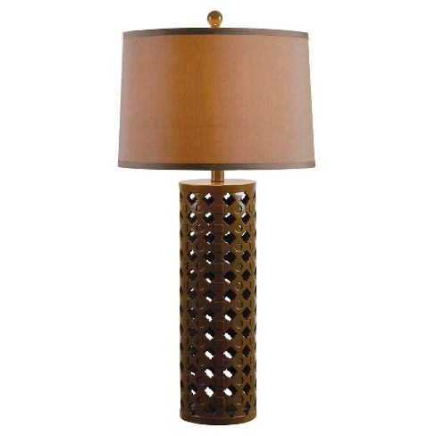 Kenroy Home Table Lamp - Teal - image 1 of 2