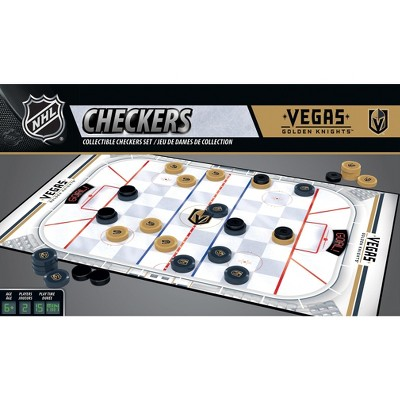 MasterPieces NHL Vegas Golden Knights Checkers Board Game