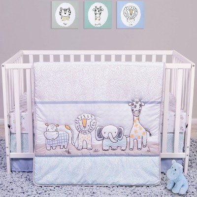 Sammy and Lou Safari Yearbook Crib Bedding Set - 4pc
