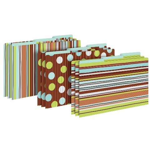 "Barker Creek® File Folders, 9.5"" x 14.8"", 9ct - Ribbon by the Yard - image 1 of 6"