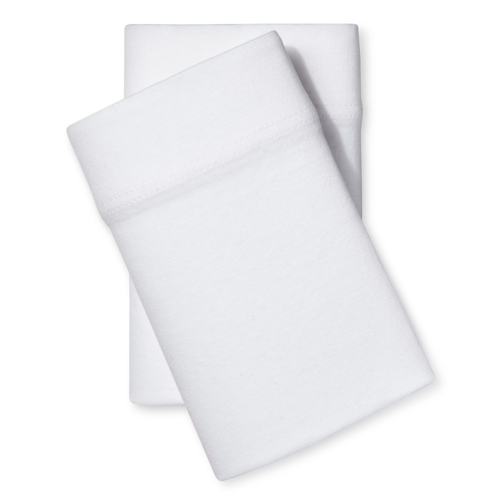 Standard Jersey Pillowcase Set White Room Essentials 8482