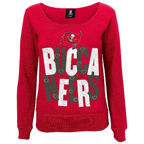 223e2354 Tampa Bay Buccaneers Girls Open Neck Fleece L