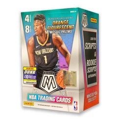 NBA Mosaic Basketball Trading Card Blaster Box