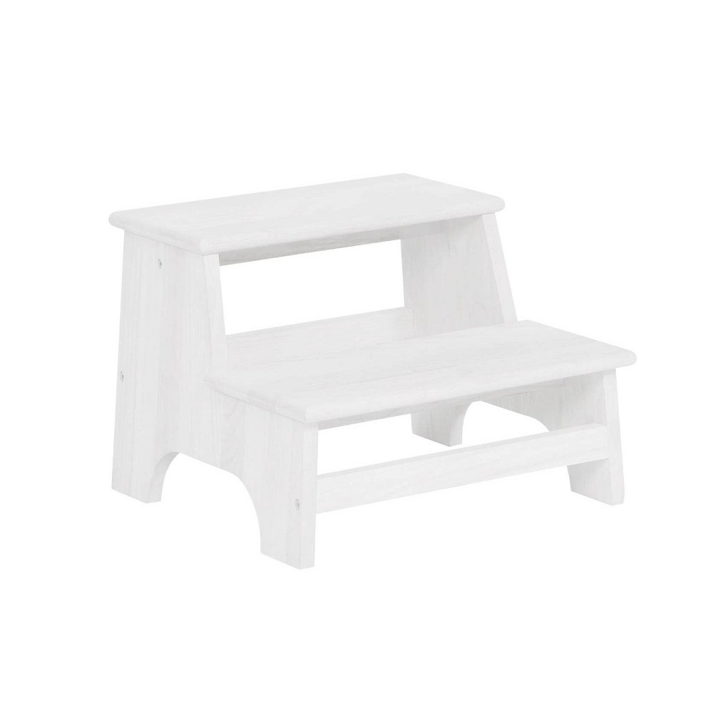 Image of Tyler Bed Step White - Powell Company