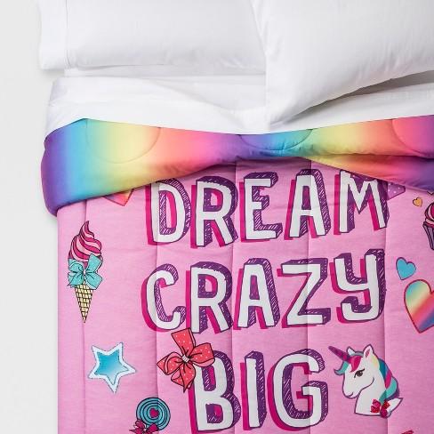 Jojo Siwa Full Reversible Comforter, Jojo Siwa Bedding Set Full