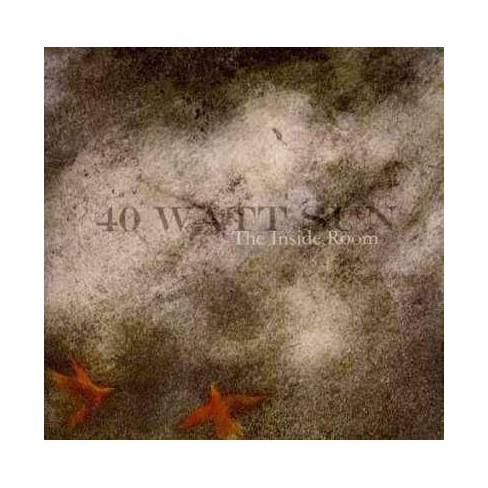 40 Watt Sun - Inside Room (CD) - image 1 of 1