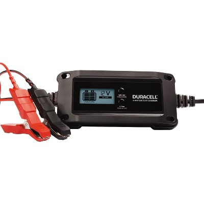 Duracell 4 Amp Battery Charger Maintainer and Gel Batteries