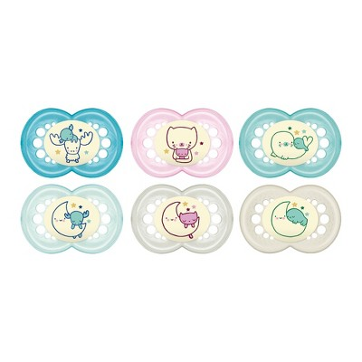 MAM Night Astro Pacifier Set - 6+ month 2pk