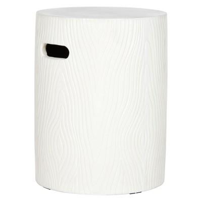 Trunk Round Concrete Accent Table - Safavieh®