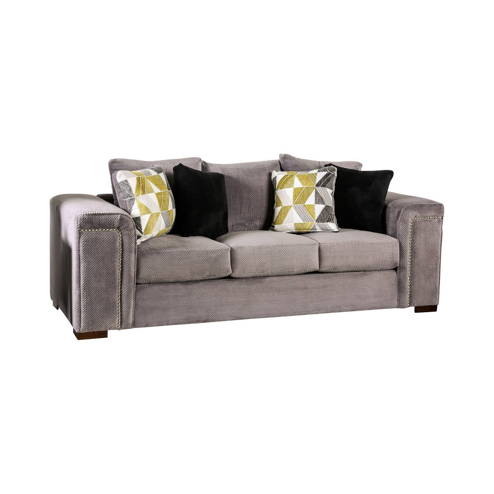 Swanton Track Arm Sofa Warm Gray - Homes: Inside + Out