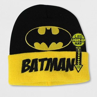 Mens Batman Beanie - Black One Size