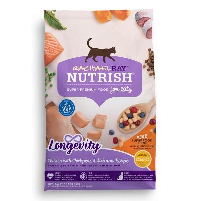 Cat Food: Rachael Ray Nutrish Longevity