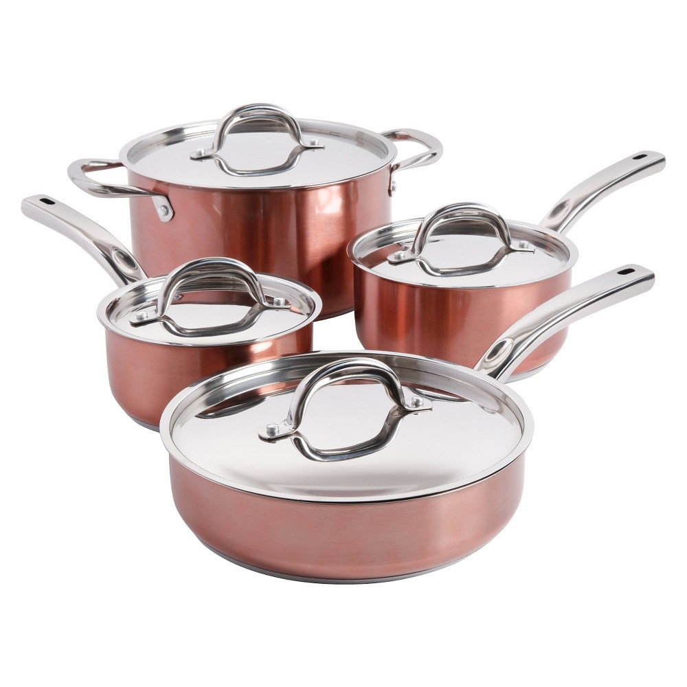 Oster 8 Piece Cookeware Set - Copper (Brown)