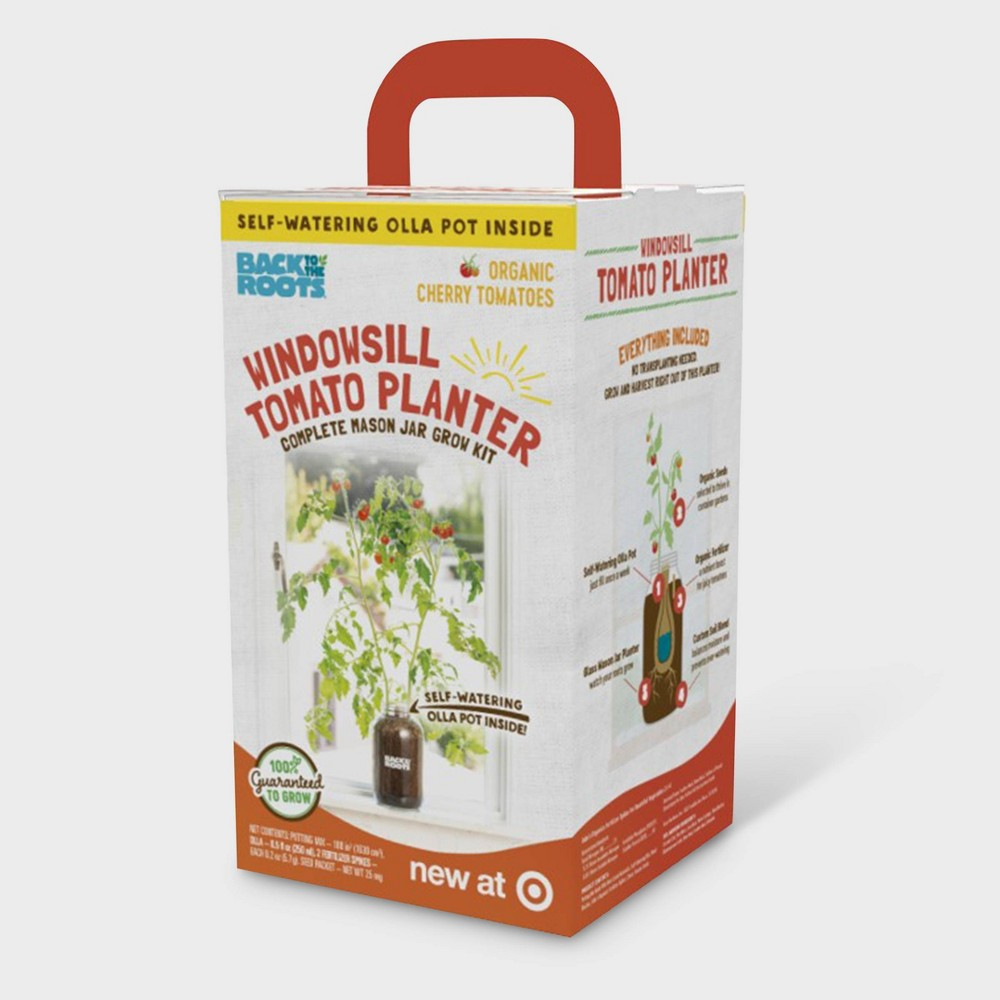Image of Organic Cherry Tomato Grow Kit - Back to the Roots