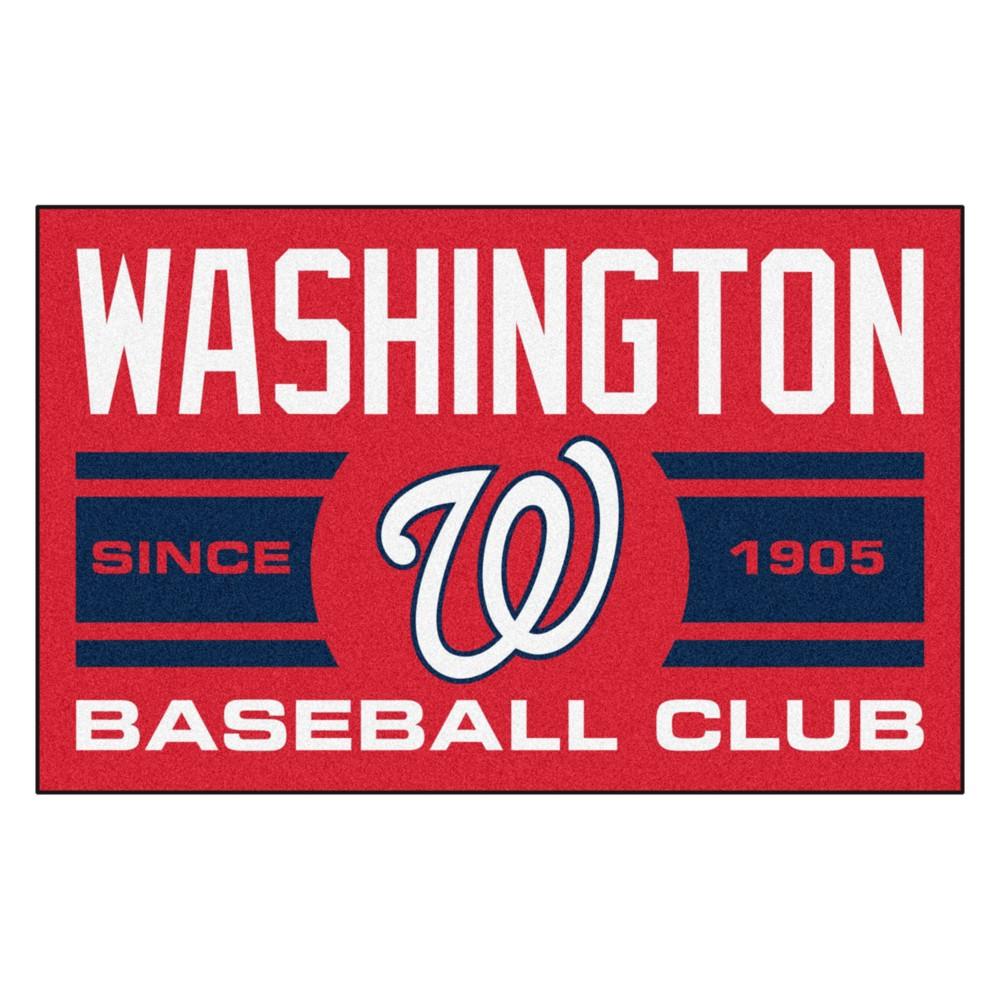 MLB Washington Nationals Baseball Club Starter Rug 19