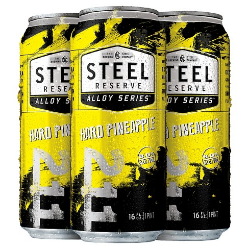 Steel Reserve® Hard Pineapple - 4pk / 12oz Cans - image 1 of 1