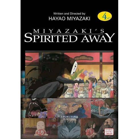 Spirited Away Film Comic, Vol. 4, Volume 4 - (Spirited Away Film Comics) by  Hayao Miyazaki (Paperback) - image 1 of 1