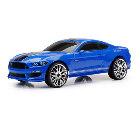 New Bright Full Function RC Vehicle Ford Shelby GT 350 - Blue - 1:12 Scale - image 1 of 4