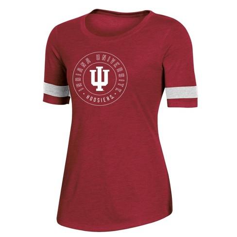 NCAA Indiana Hoosiers Women's Short Sleeve Crew Neck T-Shirt - image 1 of 2