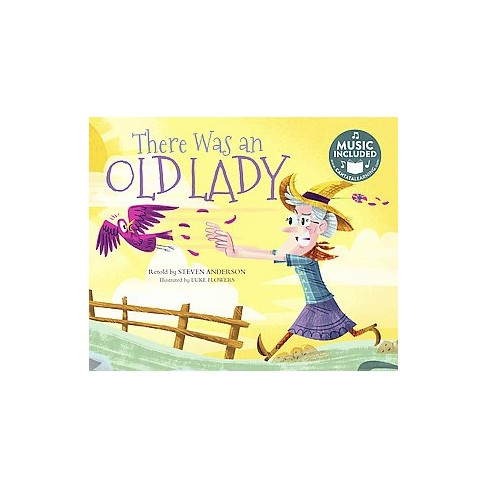 There Was an Old Lady : Includes Website for Music Download (Paperback)