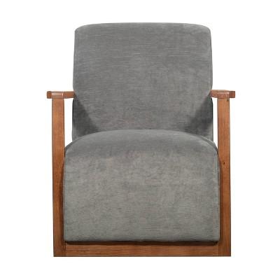 Hamilton Wood Framed Armchair - Finch