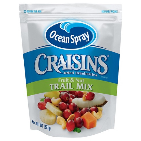 Ocean Spray® Craisins® Dried Cranberries Fruit & Nut Trail Mix 8 oz - image 1 of 1