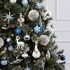 4ct Glitter Starburst Christmas Ornament Set Blue - Wondershop™ - image 2 of 2
