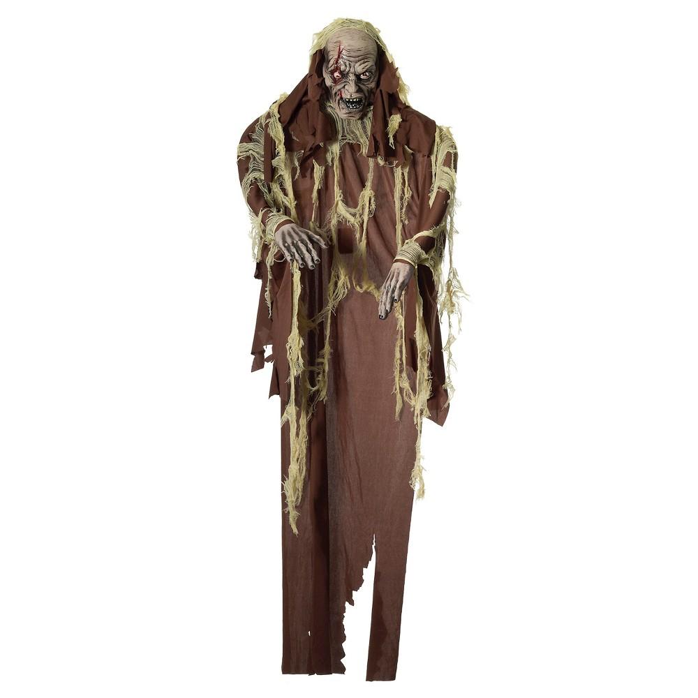 Image of 6ft Halloween Hanging Mummy Decor, Brown