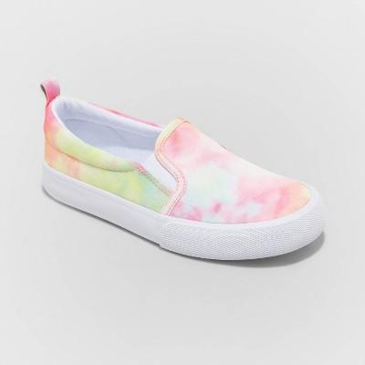Girls' Sariah Twin Gore Slip-On Apparel Sneakers - Cat & Jack™