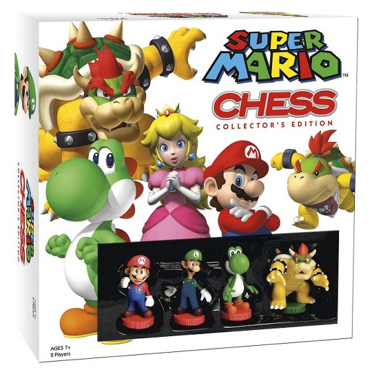 Super Mario Chess Collector's Edition Board Game image number null