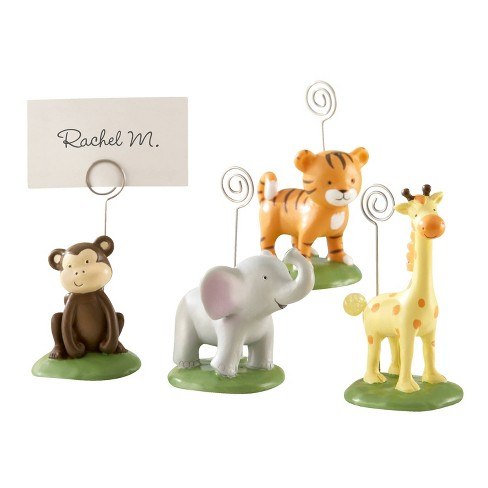 "12ct ""Born To Be Wild"" Animal Place Card/Photo Holders - image 1 of 2"