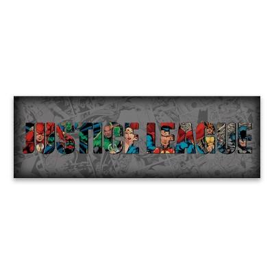 DC Comics® Justice League Canvas Wall Art (30 x10 )