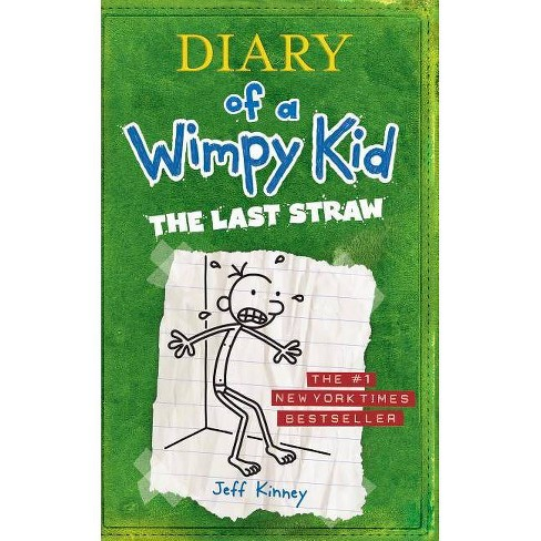 The Last Straw Diary Of A Wimpy Kid Large Print By Jeff Kinney Hardcover Target