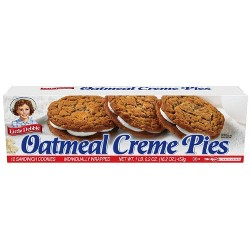 Little Debbie Oatmeal Creme Pies - 12ct