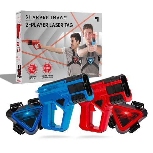 SHARPER IMAGE Two-Player Toy Laser Tag Blaster Blaster & Vest Armor Set for Kids - image 1 of 4