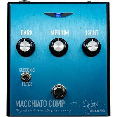 Ashdown Guy Pratt Signature Tri Band Compressor Effects Pedal Blue
