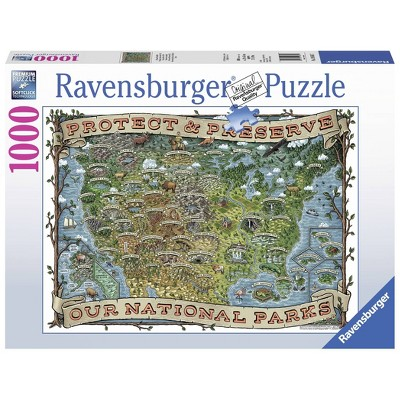 Ravensburger Protect and Preserve USA Puzzle 1000pc