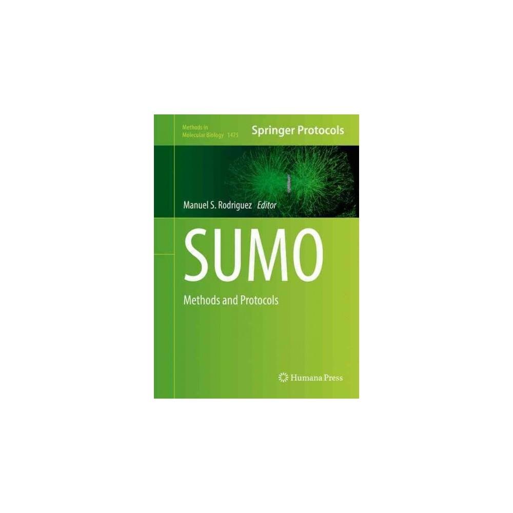 Sumo : Methods and Protocols (Hardcover)