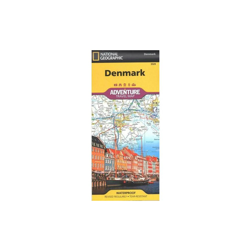 National Geographic Adventure Travel Map Denmark - Map (Paperback)