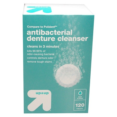 Denture Tablets - Mint - 120ct - Up&Up™ - image 1 of 2