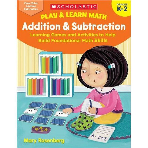 Play & Learn Math: Addition & Subtraction - by  Mary Rosenberg (Paperback) - image 1 of 1