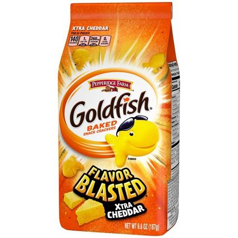Pepperidge Farm Goldfish Flavor Blasted Xtra Cheddar Crackers - 6.6oz - image 1 of 4