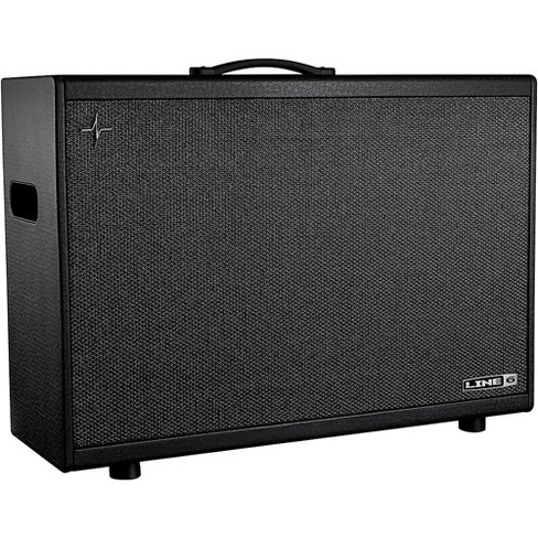 Line 6 Powercab 212 Plus 500W 2x12 Powered Stereo Guitar Speaker Cab Black and Silver - image 1 of 4