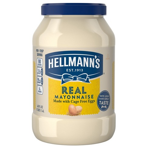 Hellmann's Mayonnaise Real - 48oz - image 1 of 4