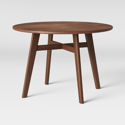 44  Maston Dining Table Round Hazelnut - Project 62™