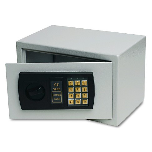 Gary® Personal Safe, 0.3 ft3, 12-1/4w x 7-3/4d x 7-3/4h - Gray - image 1 of 1
