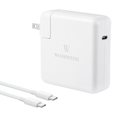 Wasserstein 96W USB Type-C Power Adapter Charger Compatible with MacBook Pro 16/13/12 inch, MacBook Air 13 inch, iPad Pro 11/12.9 inch (5.9ft/1.8m)