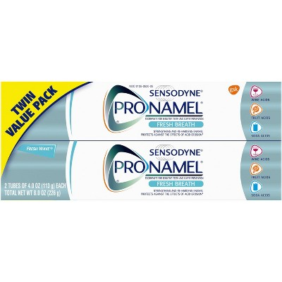 Toothpaste: Sensodyne Pronamel Fresh Breath